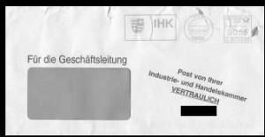 Der IHK-Umschlag